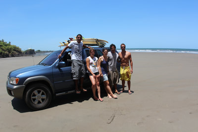 guided surf trips el salvador