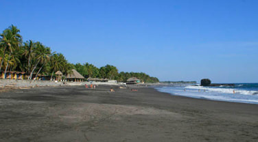 playa el tunco